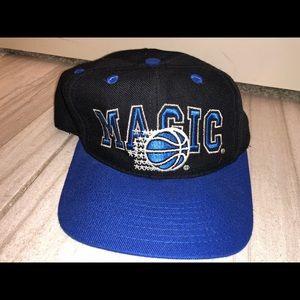 Vintage Orlando Magic Sports Snapback Cap Retro